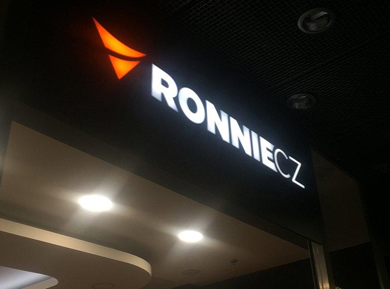 Logo Ronnie -OC Jihlava
